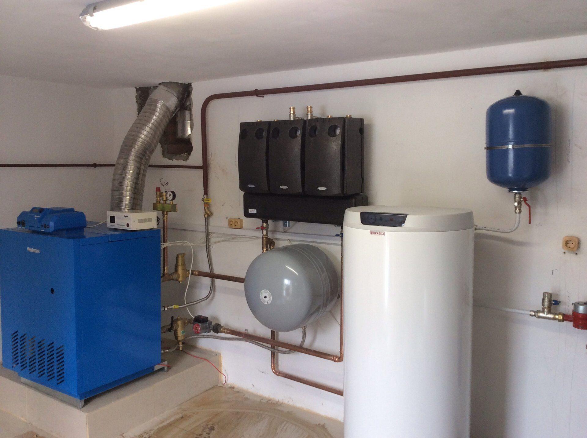 Газовое отопление дома под ключ цена