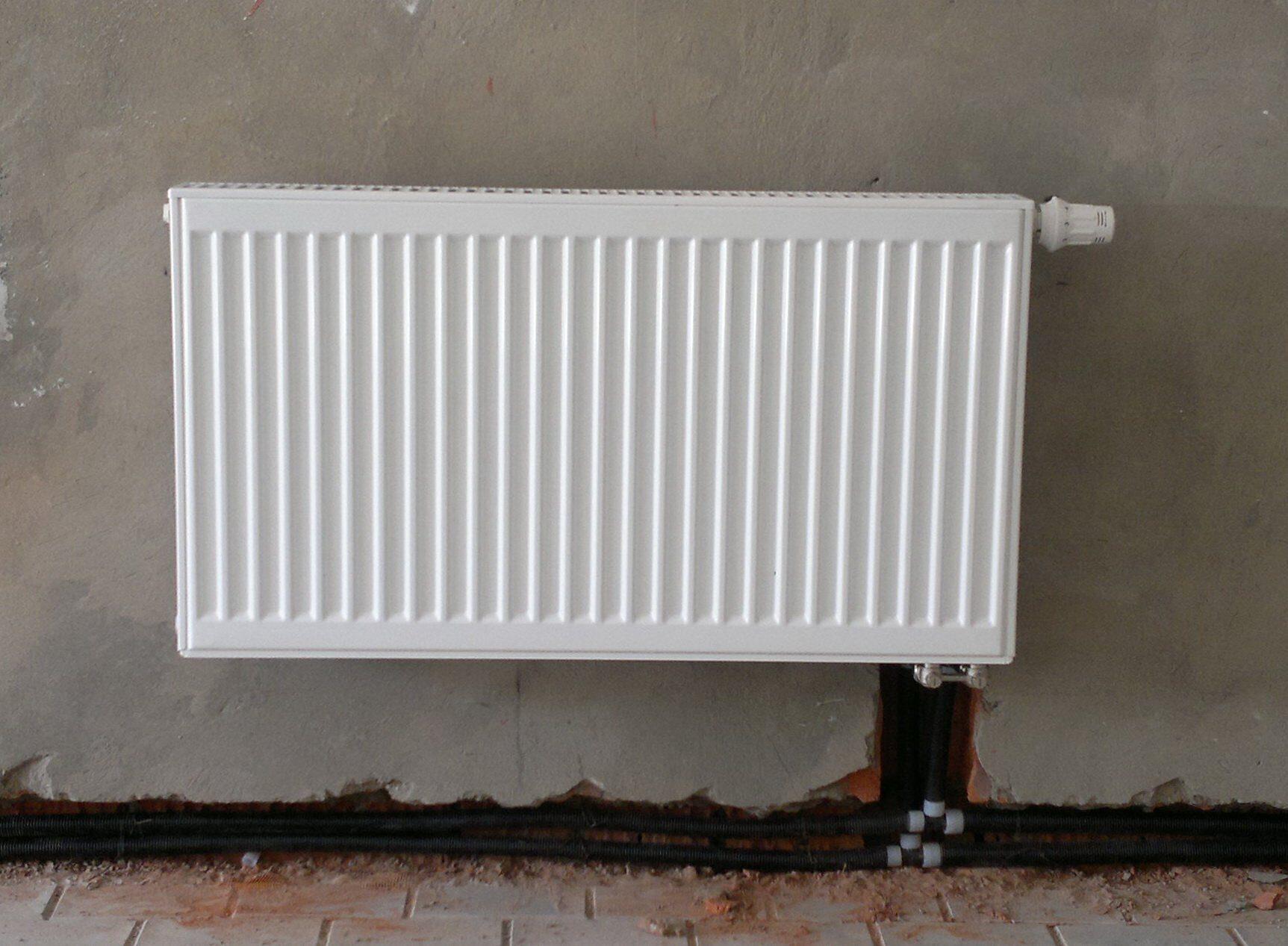 Устройство водяного теплого пола бетонной стяжкой